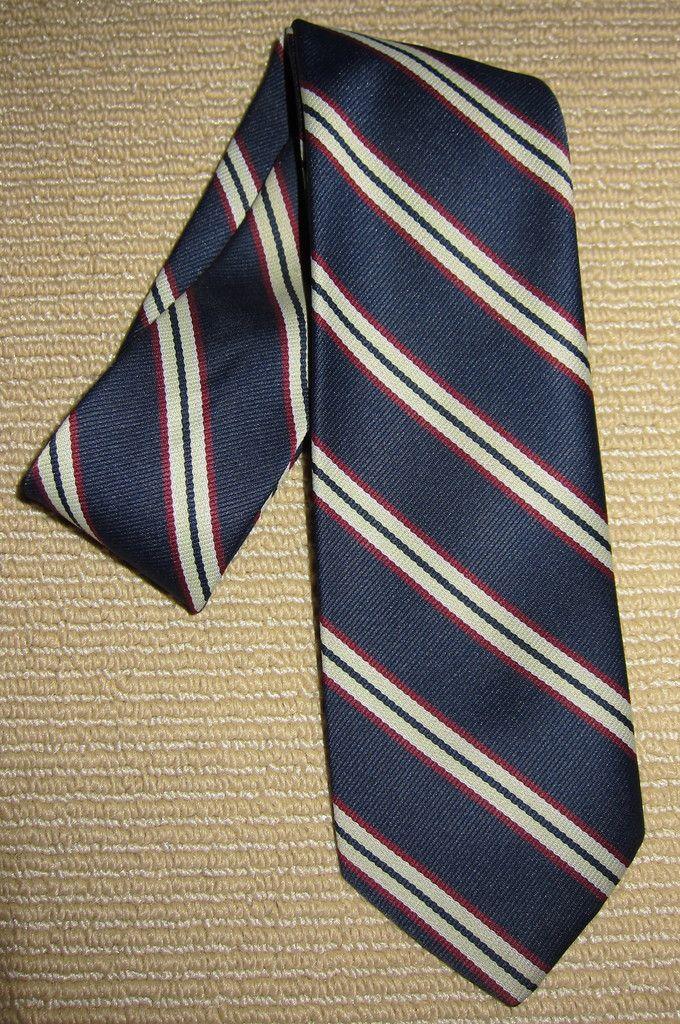 1990s Prevailing Prepster + Stripe Tie