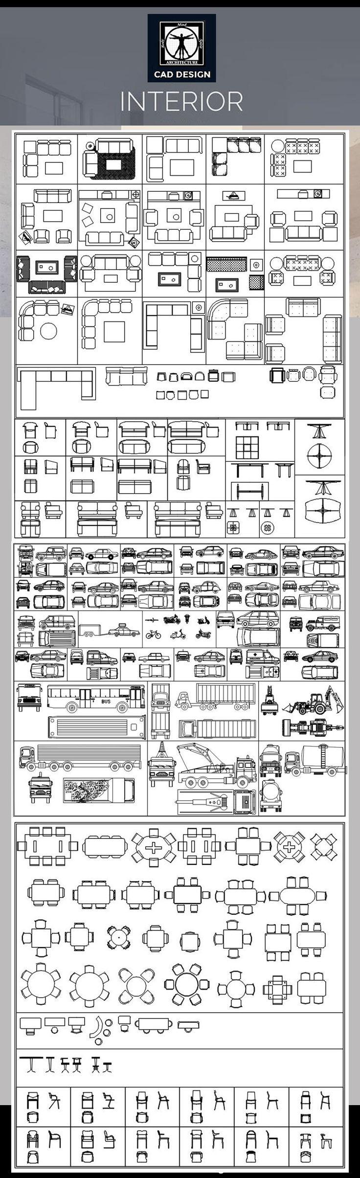 All Interior Design Blocks Bundle 4