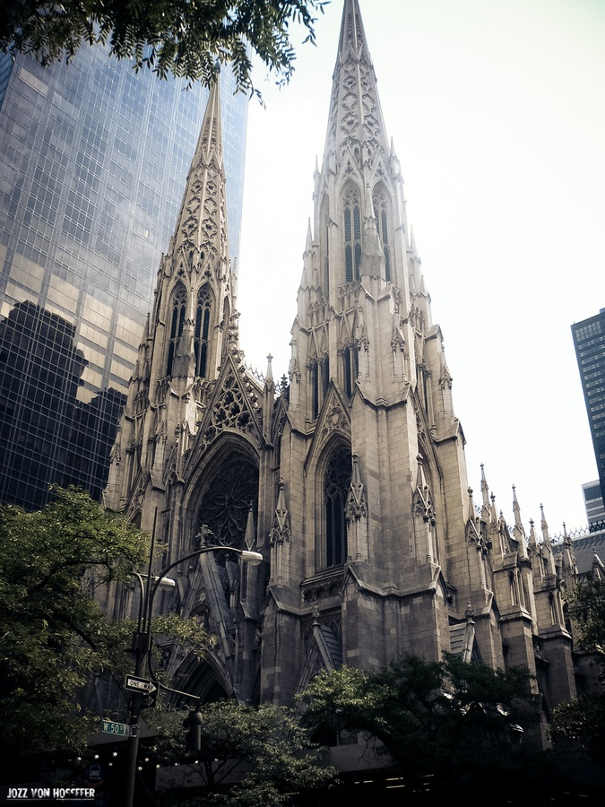 St.Patrick´s Cathedral - must've walked past this 50 times on January visit to NYC