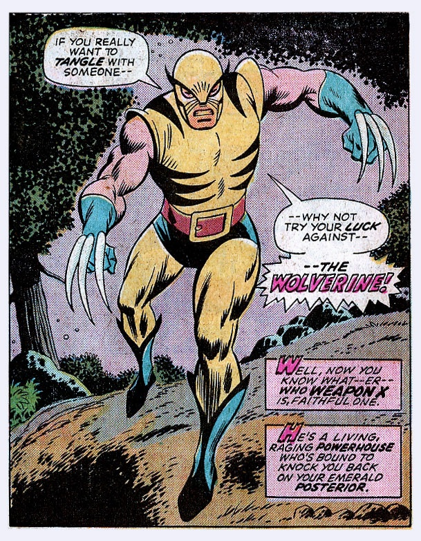 From Wolverine's first appearance, 1986