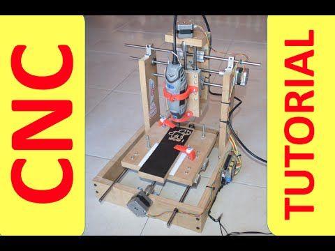 ✅ Como construir una Fresadora CNC casera 3 ejes, Convertible a impresora 3D #5…