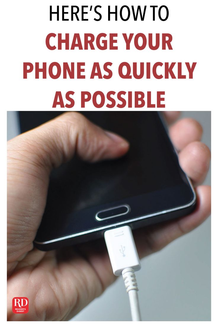 Heres how to charge your phone faster phone phone