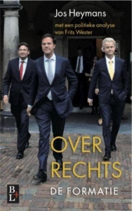 Over rechts  Een spannend verslag achter de schermen van de formatie. Journalisten Jos Heymans en Frits Wester van RTL Nieuws volgden in het hart van de Haagse stolp de totstandkoming van het eerste kabinet-Rutte op de voet. In Over rechts komen de onderhandelaars zelf aan het woord. Jos Heymans heeft een politiek dagboek bijgehouden en de twee kopstukken Mark Rutte en Maxime Verhagen exclusief geïnterviewd. Beide heren vertellen in opvallend openhartige gesprekken over hun optreden tijdens…
