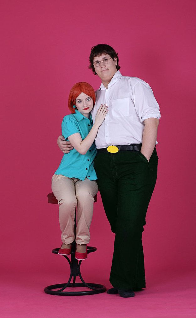 Peter & Lois (Family Guy) | Community Post: 25 Couples' Costumes Inspired By Cartoons too funny