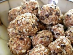 These energy bites were easy to make and so delicious that my kids devoured them.  It's a healthy snack too. ;-)