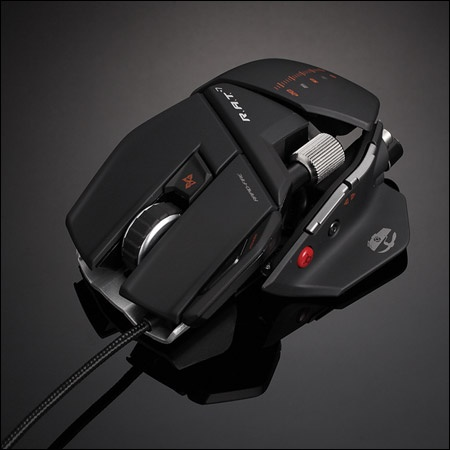 My futuristic mouse.   It works pretty well!