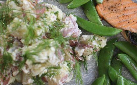 Crushed Herby Potatoes Recipe by Siba Mtongana