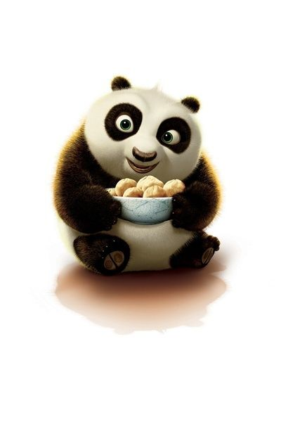 Baby po - kung fu panda :) My fave little guy, He's so cuuute!