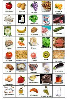 los alimentos básicos