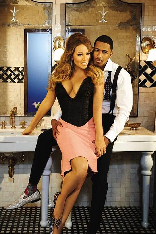Mariah & Nick Cannon I absolutely love Nick Cannon show wild n out it was fun to watch