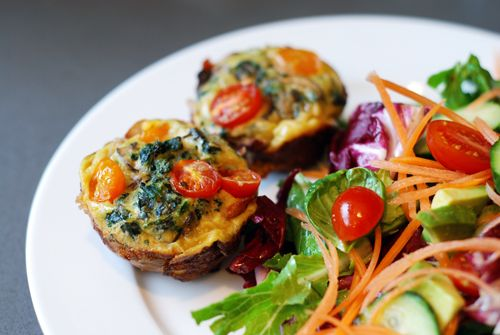 Prosciutto wrapped mini frittata muffins | Whole 30 Recipes | Pintere ...