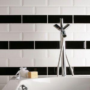 Black And White Metro Tiles