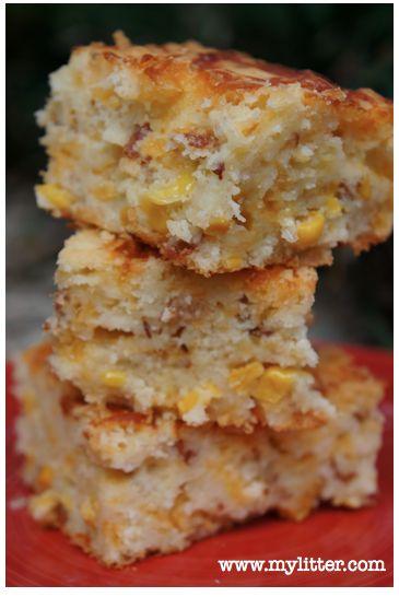 Buttermilk Bacon Cheddar Corn Bread