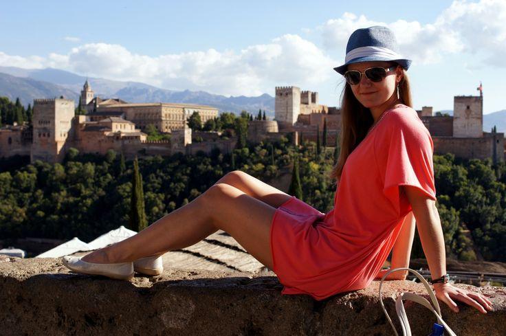 Photoshooting at Mirador de San Nicolas, Granada, Spain - lilmissboho.com