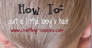 How to cut little boy's hair