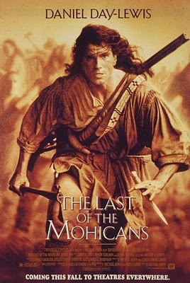Last of the Mohicans was epic. I remember being 12 years old and feeling like I was a changed boy after that movie. What a soundtrack to go along with the great acting and scenery. Definitely in the running for my favorite movie
