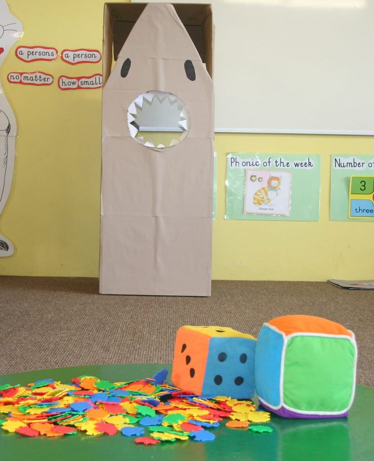 Under the Sea Shark Game Preschool - Life in the Sandpit