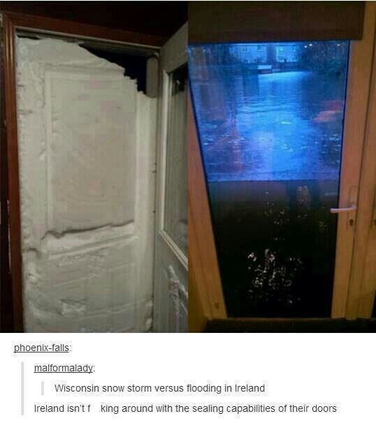 Ok, little tip, the Ireland 'flood' door is not real, it's not glass it's just got an image over it. This is the same magic-ruiner as taking a child to Disneyland only to make the mascots take their suits off, but screw it, I'm a grinch today