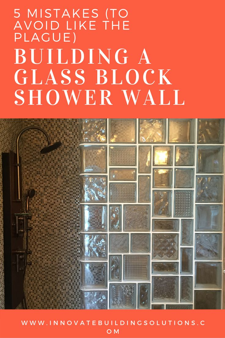 Classic building blocks abel building solutions - 5 Mistakes To Avoid Like The Plague Building A Glass Block Shower Wall