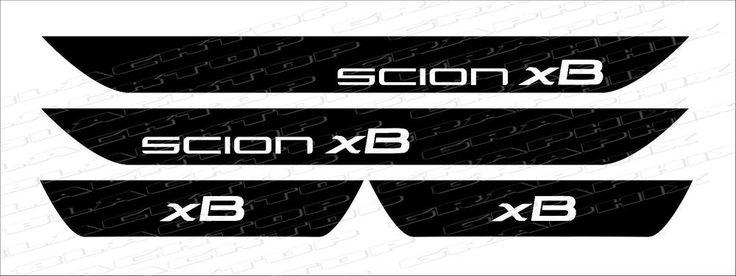 Scion xB Vinyl Door Sill Decals set 2008 2009 2010 2011 2012 2013 2014 2015 2016   eBay Motors, Parts & Accessories, Car & Truck Parts   eBay!