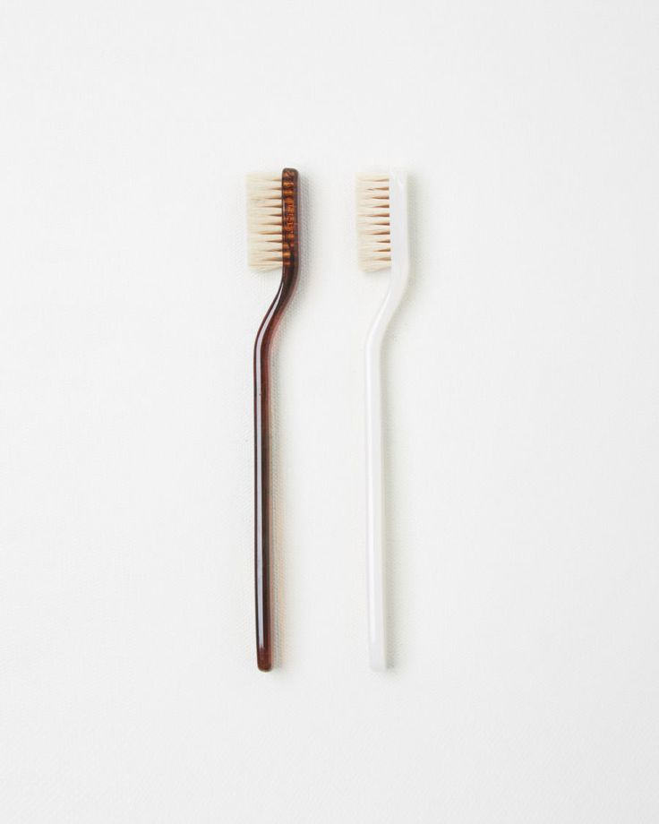 Swissco White Horn Toothbrush