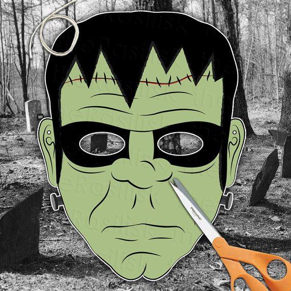 Frankenstein's Monster Mask  Frankenstein Mask  by theRasilisk
