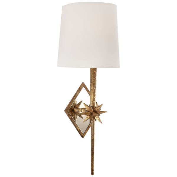 Antique Brass lighting is so hot right now. This transitional wall sconce with a shade brings elegance to your hallway or bathroom. Buy Now & Get Free Shipping.