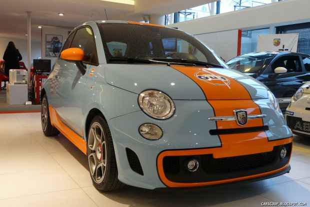 Design Friday The Color Of Gulf Racing With Images Fiat