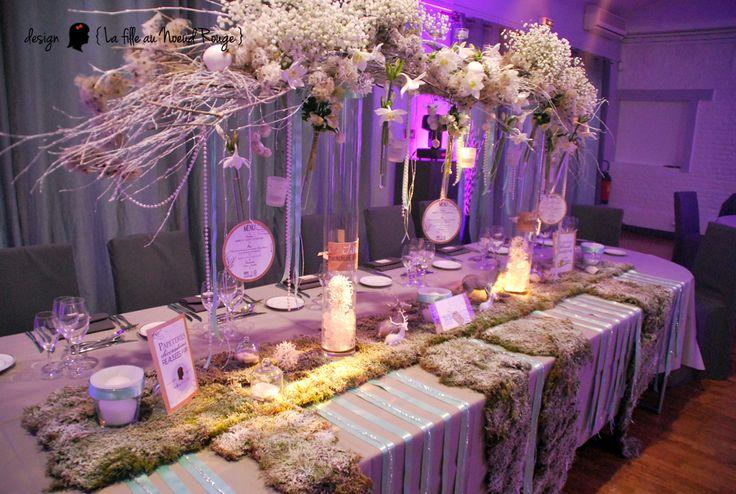 D coration papeterie mariage th me charme d 39 hiver couleurs - Theme de soiree tendance ...