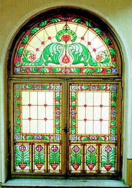 Art Nouveau stained glass in Oradea | True Romania
