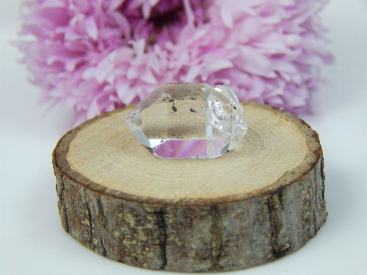 Herkimer Diamond Twinned Crystal, Authentic Collectible Jewelry Grade NY Mineral  | eBay