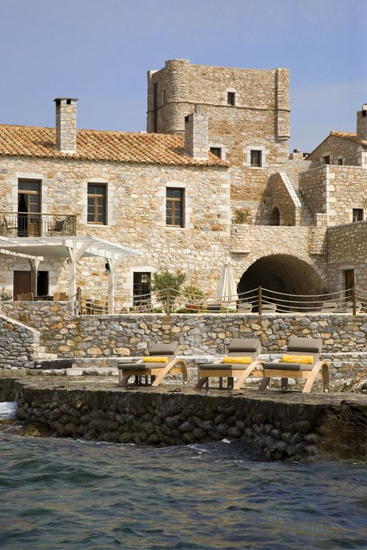 Stone towers, picturesque ports and rich history compose the three integral parts of #Mani region in #Greece. This winter, one of the most historical parts of Peloponesse offers us one more reason for a weekend getaway, with a stay at the exquisite #KyrimaiHotel.  http://www.tresorhotels.com/en/offers/323/winter-weekend-in-mani-and-kyrimai-hotel