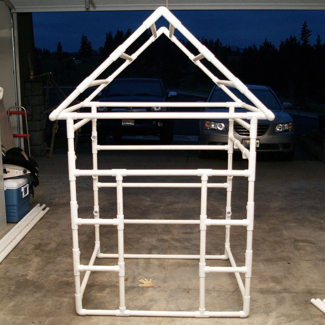 17 best images about pvc projects on pinterest pvc pipes for Pvc playhouse kit