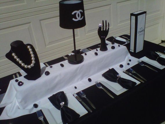 Best images about party theme chanel on pinterest