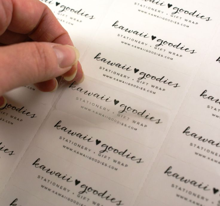 78 Best Ideas About Clear Address Labels On Pinterest