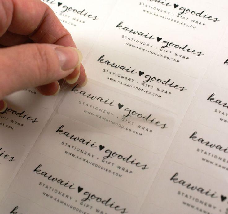 Custom print CLEAR address labels - 2 5/8 x 1 transparent custom labels -clear wedding favor labels, return address labels, invitations by kawaiigoodies on Etsy https://www.etsy.com/listing/217245431/custom-print-clear-address-labels-2-58-x