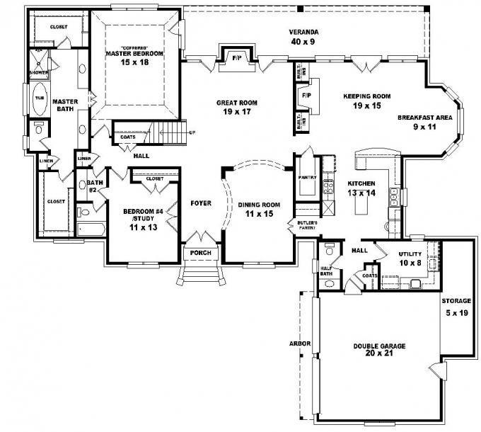 55 best House plans images on Pinterest Floor plans Home plans