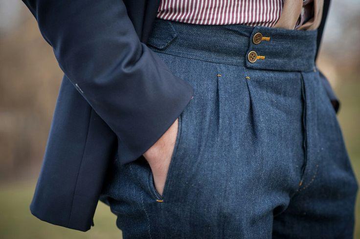Bespoke Denim Trousers