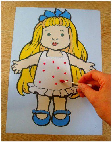 Украшаем платье куклы!