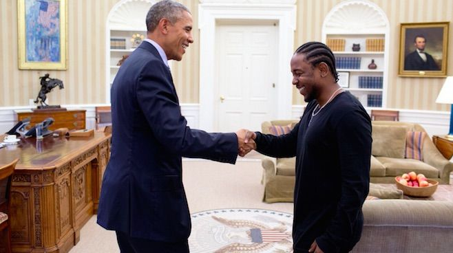 """Video: Kendrick Lamar Shares """"Pay It Forward"""" PSA, In Which He Discusses Meeting President Obama"""