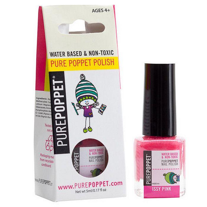 Pure Poppet Natural Kids Nail Polish - Issy Pink