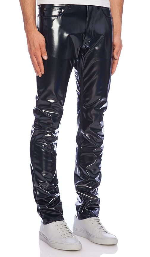 1723a9edb517 PANTALON SYD   PVC jeans and trousers   Pinterest   Pants, Mens fashion and  Leather