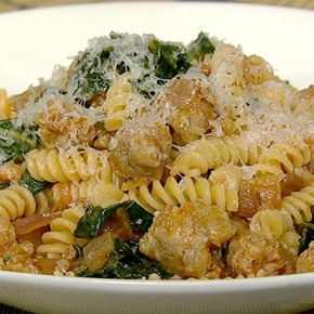 Mario's Fusilli with Sausage and Kale