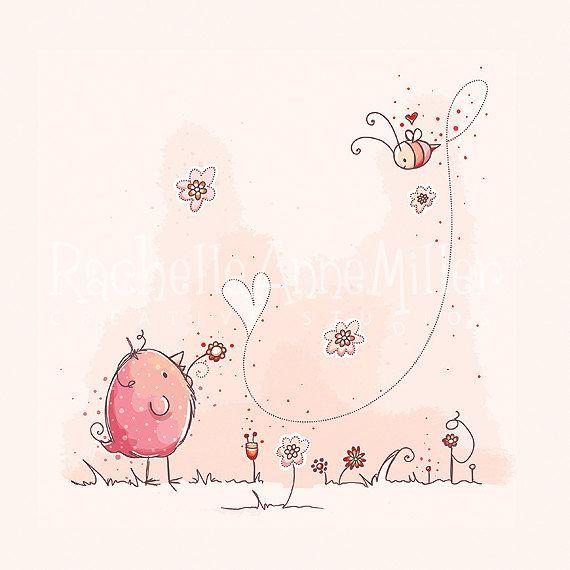 L'immaginazione è la prima fonte della felicità umana. Giacomo Leopardi *** my little place Art by Rachelle Anne Miller