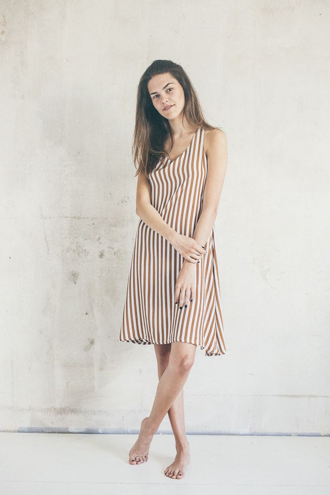 Twist back dress | BOHO | www.boho.lu