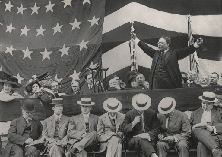 President Theodore Roosevelt speaking at Grant's tomb (1911)