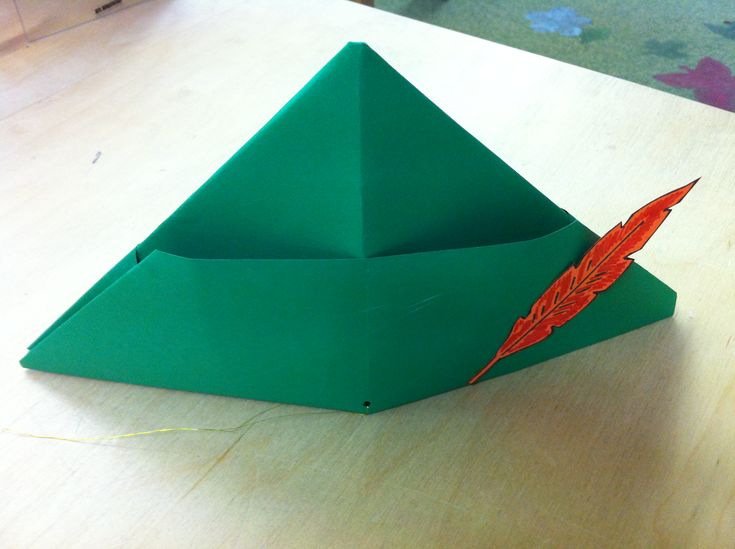 DIY idea! Make your own Peter Pan hat using this tutorial: http://www.ehow.com/how_5562781_make-peter-pan-hat.html