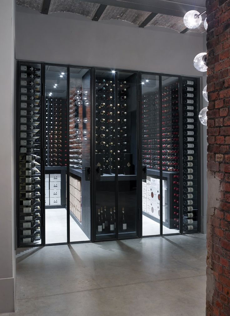 Wine cellar The Jane Antwerp. For other ideas for cellaring go to www.winetocellar.co.nz