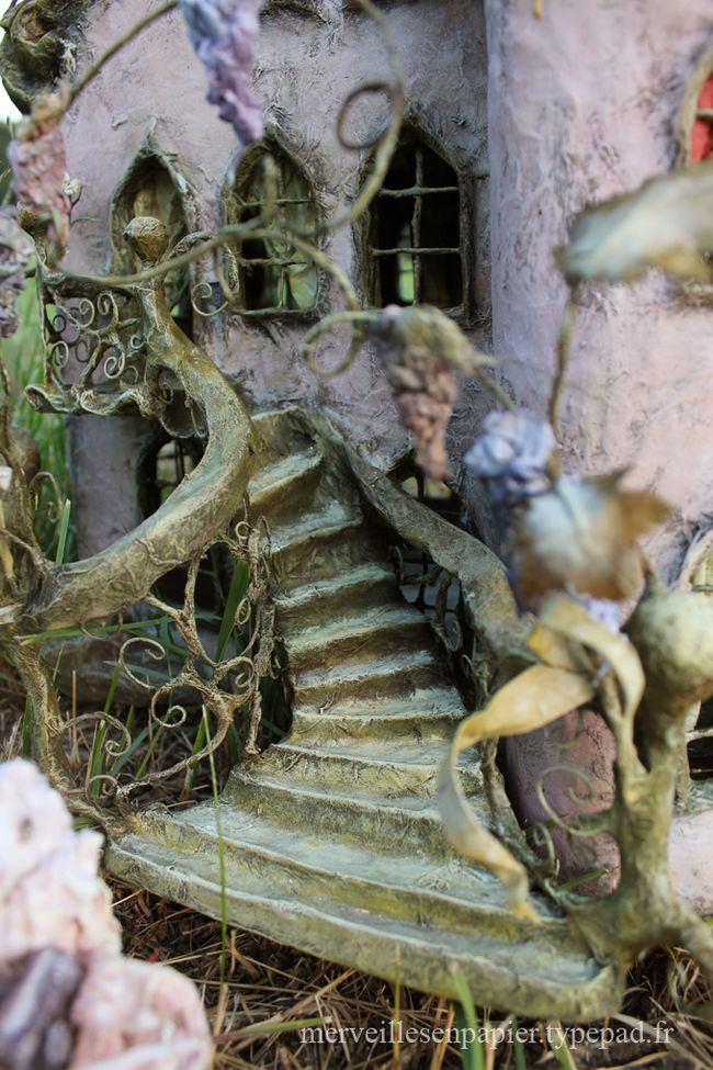 Paper mache dollhouse amazing craft miniatures 1 48 scale and