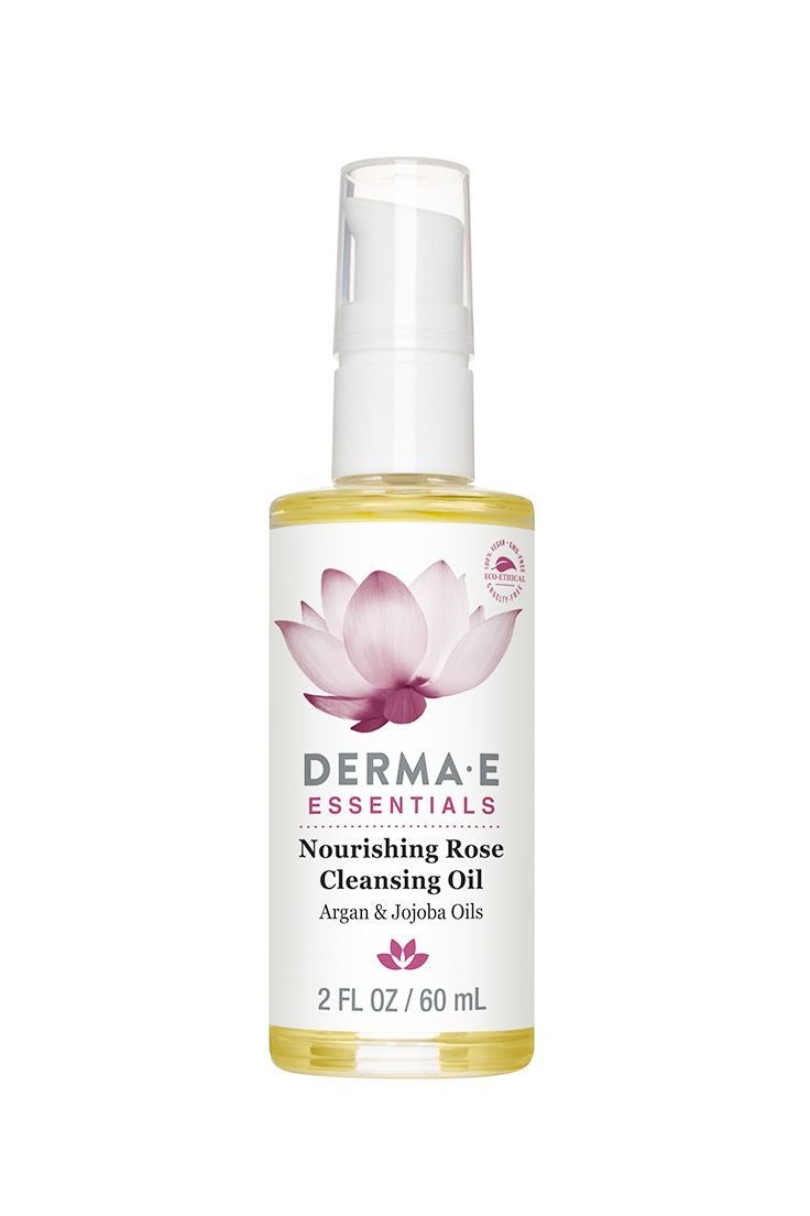 Derma E Nourishing Rose Cleansing Oil #ad